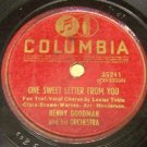 One Sweet Letter From You 78 RPM on Columbia
