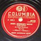 Rose Room  - Benny Goodman Sextet 78 RPM Record