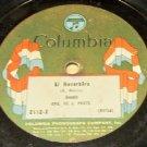 El Reverbera         78 RPM on Columbia