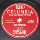 Four Brothers  78 RPM on Columbia