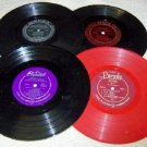 Vintage 33 1/3 RPM Group of Records