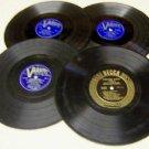 Set Of Four Vintage 33 1/3 RPM Records