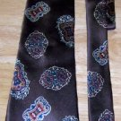 Vintage Brown Silk Necktie
