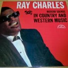 Ray Charles LP  In Country And Western Music
