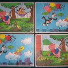 1976 Pepsi Collector Cartoon Placemats  Set of four.