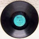 Decca Sample Record  When My Baby Smiles At Me 78 RPM