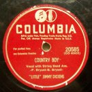 Country Boy on Columbia - Little Jimmy Dickens