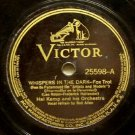 Whispers in the Dark 78 RPM on Victor