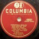 "Christmas Medley (Liberace) 78 RPM on Columbia 10"""