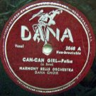 "Can-Can Girl - Polka 78 RPM on DANA 10"" record"
