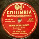 "The Man On The Carrousel 78 RPM on Columbia 10"" Record"