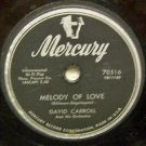 Melody of Love  78 RPM on Mercury