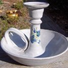 Vintage Owens Pottery Bedtime Candleholder, Seagrove, NC