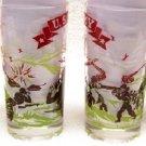 Vintage U.S. Army WWII Patriotic Glass Set 10 oz.