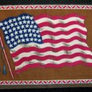 Large  Tobacco Flag - America  #2