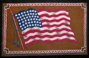 Large  Tobacco Flag - America  #2