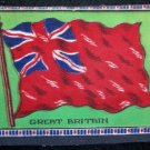 Large Great Britain Tobacco Flag