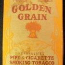 Golden Grain Tobacco Box, Brown & Williamson