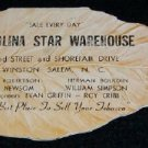 Carolina Star Warehouse - Tobacco Advertisement