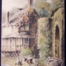Crazy Kate's Cottage, Unused English Postcard