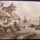 At Lynmouth,  England - Unused Postcard