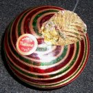 Murano Apple Glass Ornament - Vintage