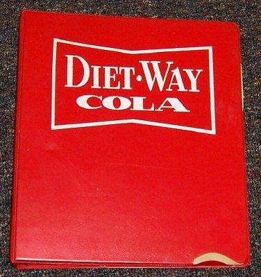 1964 Diet Way by Double Cola, Dist. Binder