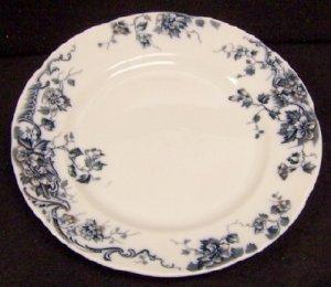 Flow Blue Plate Oban by Alfred Meakin