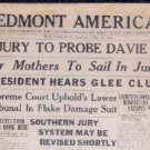 Historical Southern Black Newspaper - Piedmont American