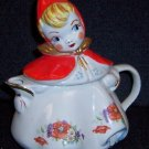 Hull Pottery Little Red Riding Hood Tea Pot
