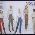 Vogue Basic Design Sewing Pattern 2695  Pants