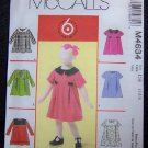 McCall's Sewing Pattern M4634 Girls Dress's