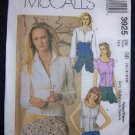 McCall's Sewing Pattern 3925 Misses Shirts DD 12,14,16,18