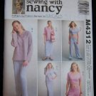 McCall's Sewing Pattern M4312  Sizes 8-22