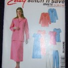 Easy McCall's Stitch & Save M4416 Sewing Pattern Misses/Miss w/bonus