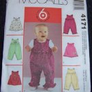 McCall's Sewing Pattern 4171 Toddlers Jumpers and Jumpsuits