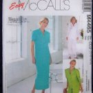 McCall's Sewing Pattern M4465 Misse's/Miss Petite Top,Pants & Skirt
