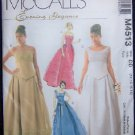 McCall's M4513 Sewing Pattern Evening Wear.