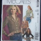McCall's M5176 Sewing Pattern Misses Lined Jacket