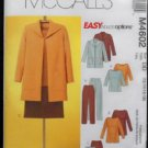 McCall's M4602 Sewing Pattern Misses/Miss Petite Jacket,Top,Tunic,Skirt & Pants