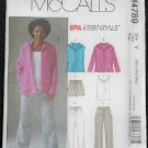 McCall's M4789 Sewing Pattern Misses/Miss Petite Vest,Jacket,Top,Shorts & Pants
