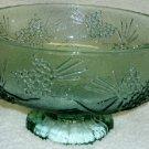 Tiara Ponderosa Pine Fruit or Salad Bowl in Spearmint Green