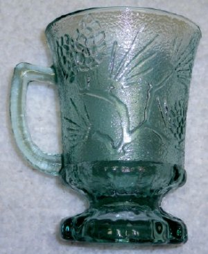 Tiara Ponderosa Pine Coffee Mug in Spearmint Green