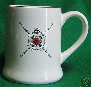 BEERMUG: THE RHODESIA REGIMENT