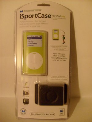 Monster iSportCase for iPod mini (Lime)