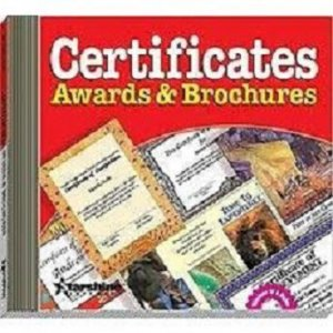 Certificates Awards & Brochures (CD-ROM)