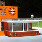 A&W A & W Root Beer Stand HO 1/87 Scale - New