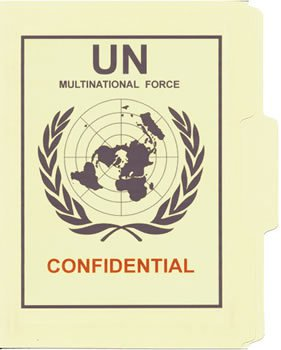 Government - United Nations Task Force File Folder NEW