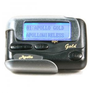 * User Programmable * POCSAG Alphanumeric Pager GOLD