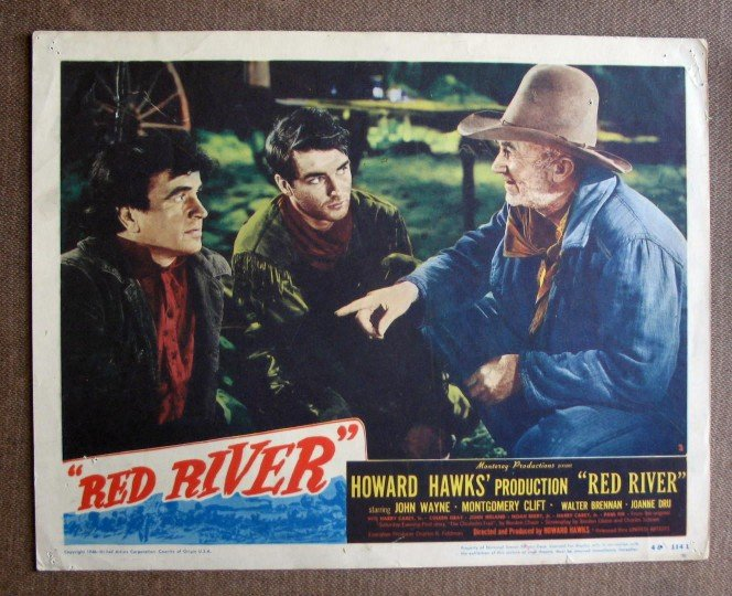 CA43 Red River MONTGOMERY CLIFT Orig 1948 Lobby Card
